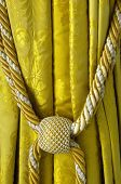 curtain and tassel in Versailles Palace in France poster