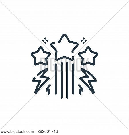 stars icon isolated on white background from rock and roll collection. stars icon trendy and modern