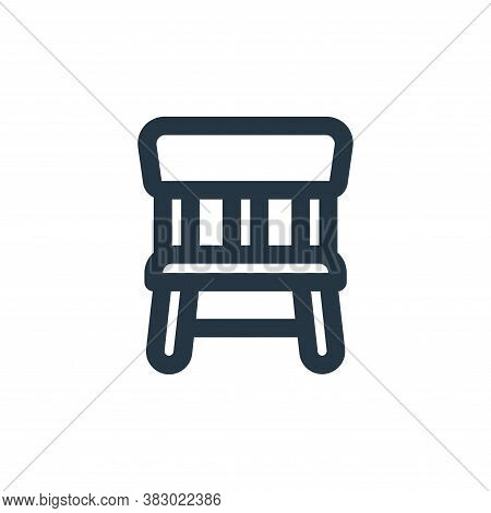 chair icon isolated on white background from ecommerce ui collection. chair icon trendy and modern c