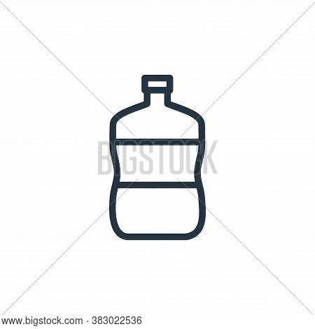 gallon icon isolated on white background from kitchen collection. gallon icon trendy and modern gall
