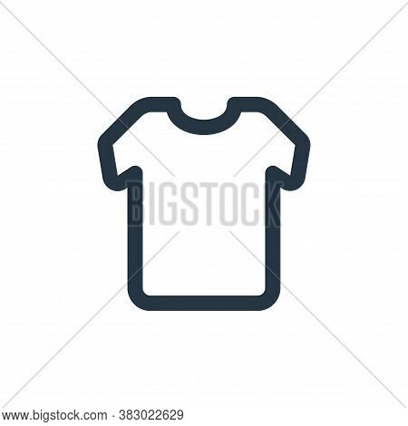 t shirt icon isolated on white background from ecommerce ui collection. t shirt icon trendy and mode