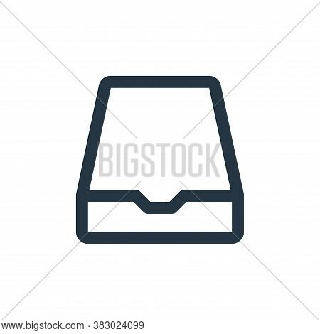 storage icon isolated on white background from user interface collection. storage icon trendy and mo