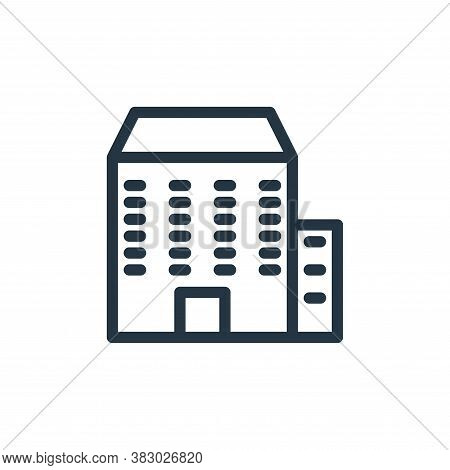 company icon isolated on white background from office equipment collection. company icon trendy and