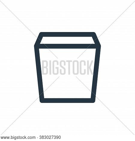 garbage icon isolated on white background from user interface collection. garbage icon trendy and mo