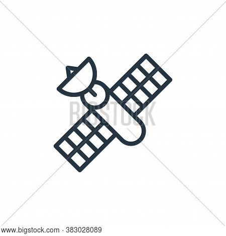 satellite icon isolated on white background from universe collection. satellite icon trendy and mode