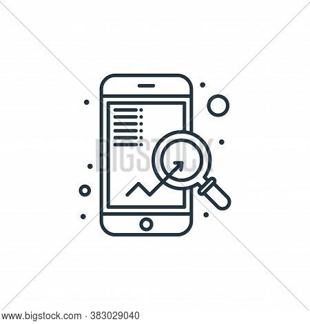seo icon isolated on white background from digital marketing collection. seo icon trendy and modern