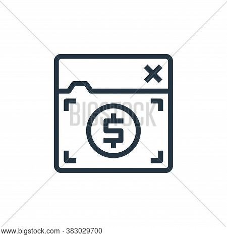 online banking icon isolated on white background from business money and communication collection. o