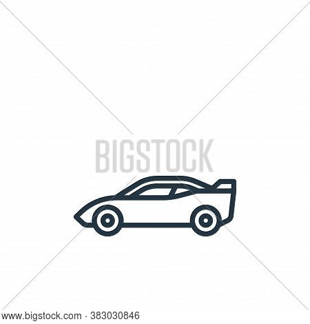 supercar icon isolated on white background from vehicles collection. supercar icon trendy and modern