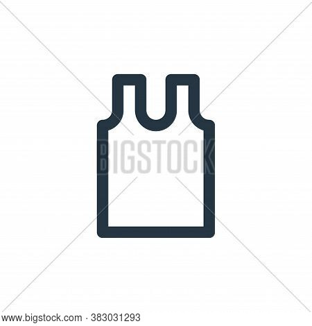 vest icon isolated on white background from style accessories collection. vest icon trendy and moder
