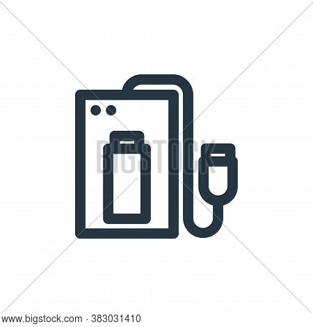 power bank icon isolated on white background from technology collection. power bank icon trendy and