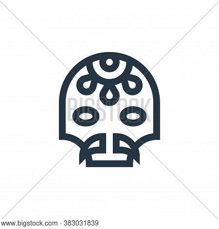 dia de muertos icon isolated on white background from mexico collection. dia de muertos icon trendy