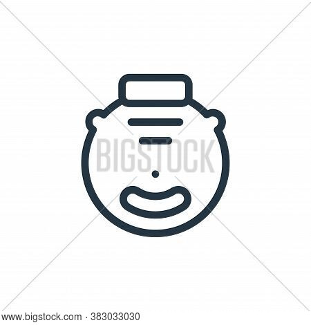 robot vacuum cleaner icon isolated on white background from smarthome collection. robot vacuum clean