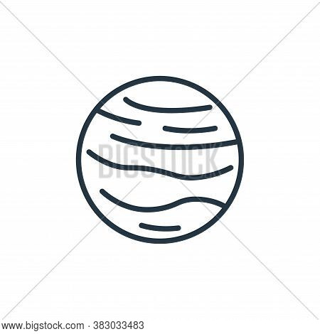 venus icon isolated on white background from space collection. venus icon trendy and modern venus sy