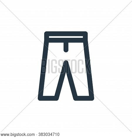 trousers icon isolated on white background from style accessories collection. trousers icon trendy a