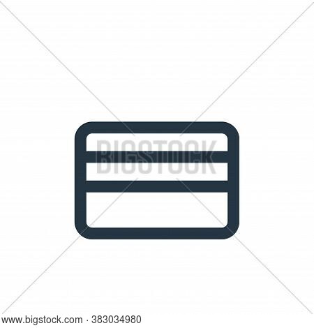 card holder icon isolated on white background from ecommerce ui collection. card holder icon trendy
