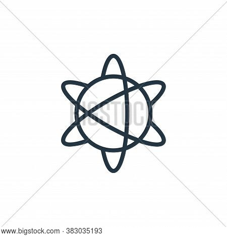 explosion icon isolated on white background from universe collection. explosion icon trendy and mode
