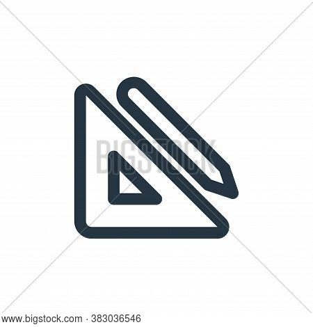 stationary icon isolated on white background from ecommerce ui collection. stationary icon trendy an