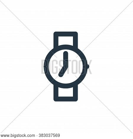 watch icon isolated on white background from style accessories collection. watch icon trendy and mod