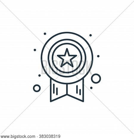 award icon isolated on white background from digital marketing collection. award icon trendy and mod