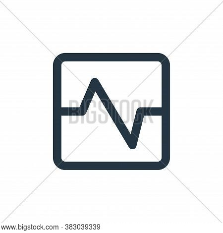 analytics icon isolated on white background from user interface collection. analytics icon trendy an