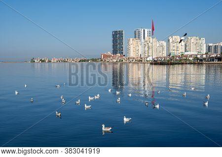 August 2020. Izmir Turkey. Izmir Coast. Editorial Photography.