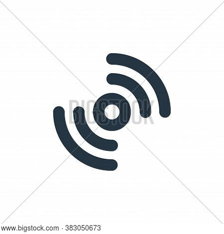 network icon isolated on white background from user interface collection. network icon trendy and mo