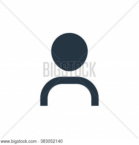 user icon isolated on white background from interface essentials collection. user icon trendy and mo
