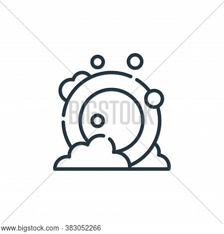 cleaning icon isolated on white background from hygiene routine collection. cleaning icon trendy and