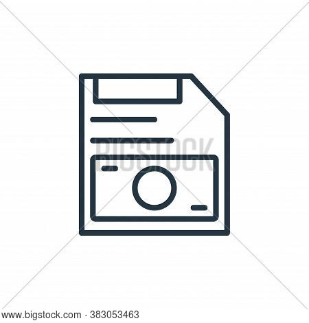 save money icon isolated on white background from online learning part line collection. save money i