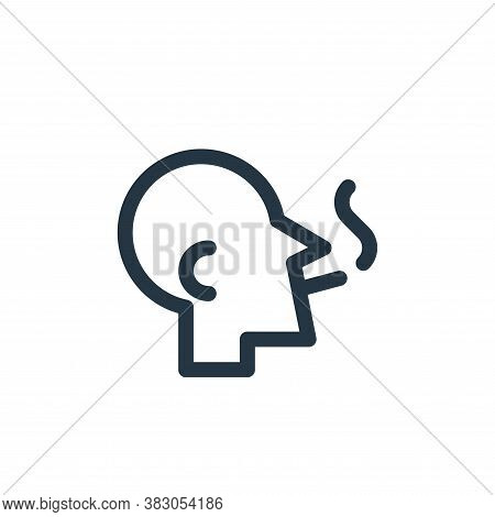 cigarette icon isolated on white background from quit smoking collection. cigarette icon trendy and