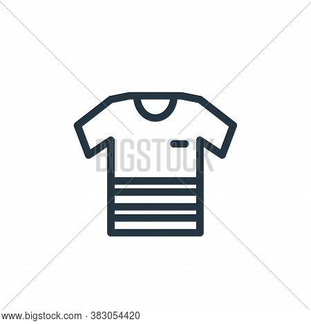 t shirt icon isolated on white background from daily life wake up collection. t shirt icon trendy an