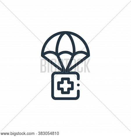 first aid icon isolated on white background from charity collection. first aid icon trendy and moder