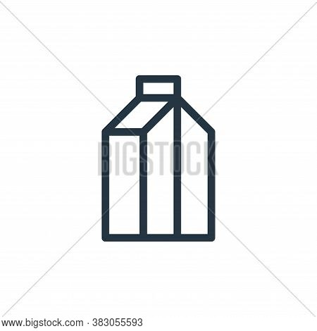 milk icon isolated on white background from daily life wake up collection. milk icon trendy and mode