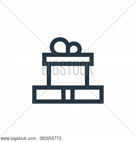 present icon isolated on white background from celebration collection. present icon trendy and moder