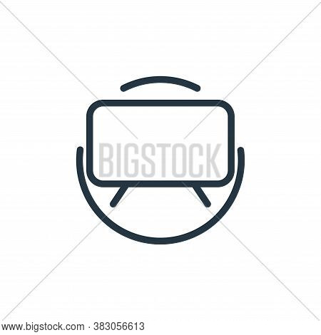 television icon isolated on white background from electrical appliances collection. television icon