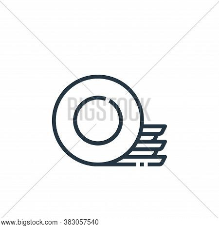 plates icon isolated on white background from cooking collection. plates icon trendy and modern plat