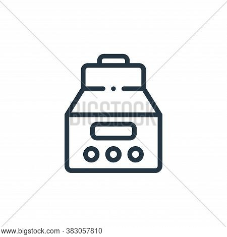 centrifuge icon isolated on white background from laboratory collection. centrifuge icon trendy and