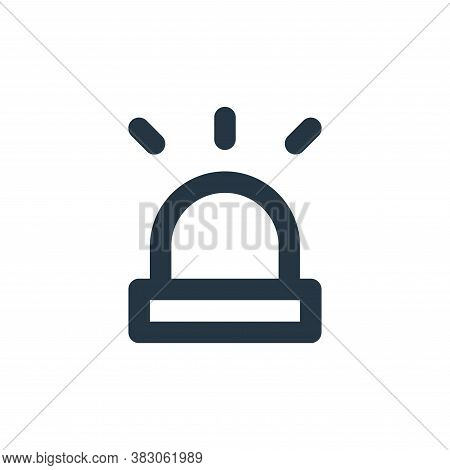 alarm icon isolated on white background from security collection. alarm icon trendy and modern alarm