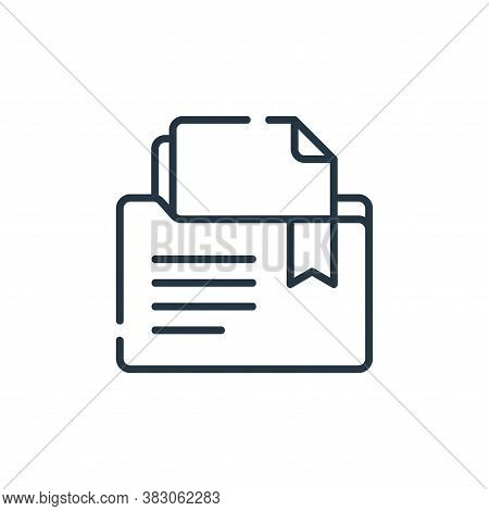 file icon isolated on white background from digital learning collection. file icon trendy and modern