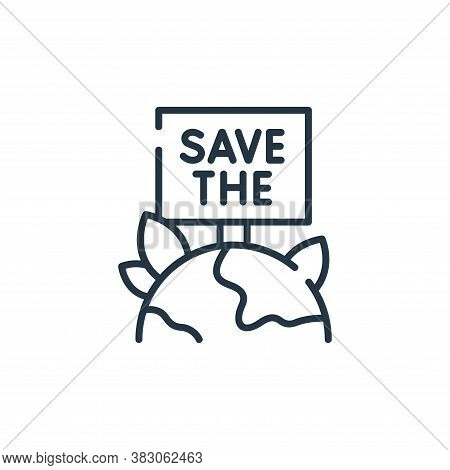 save icon isolated on white background from ecology collection. save icon trendy and modern save sym