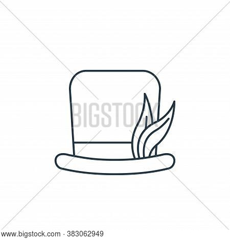 party hat icon isolated on white background from carnival collection. party hat icon trendy and mode
