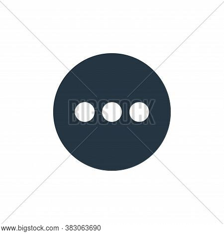 more icon isolated on white background from sosmed collection. more icon trendy and modern more symb