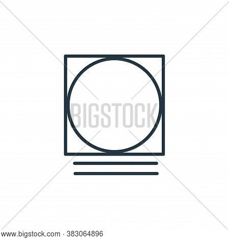 tumble dryer icon isolated on white background from laundry collection. tumble dryer icon trendy and