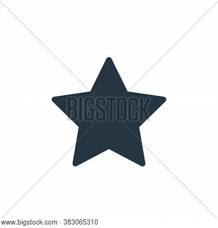 starred icon isolated on white background from sosmed collection. starred icon trendy and modern sta