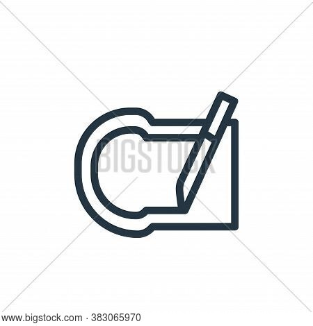 bread icon isolated on white background from daily life wake up collection. bread icon trendy and mo