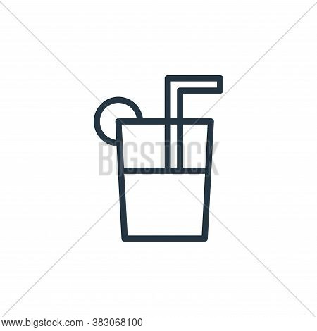 juice icon isolated on white background from summer collection. juice icon trendy and modern juice s