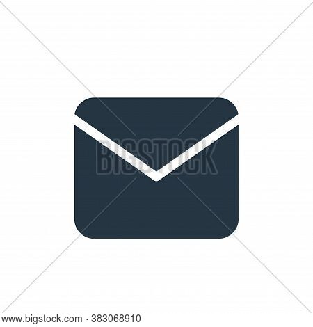 email icon isolated on white background from sosmed collection. email icon trendy and modern email s