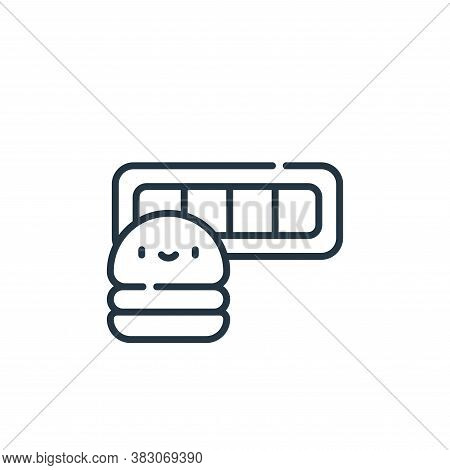 life bar icon isolated on white background from videogame elements collection. life bar icon trendy