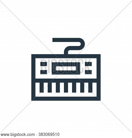 keyboard icon isolated on white background from celebration collection. keyboard icon trendy and mod
