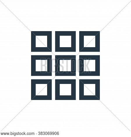menu icon isolated on white background from basic ui collection. menu icon trendy and modern menu sy